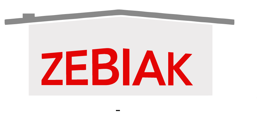 Zebiak House Raising Animated Logo