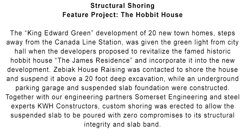 Zebiak House Raising - Structural shoring - intro