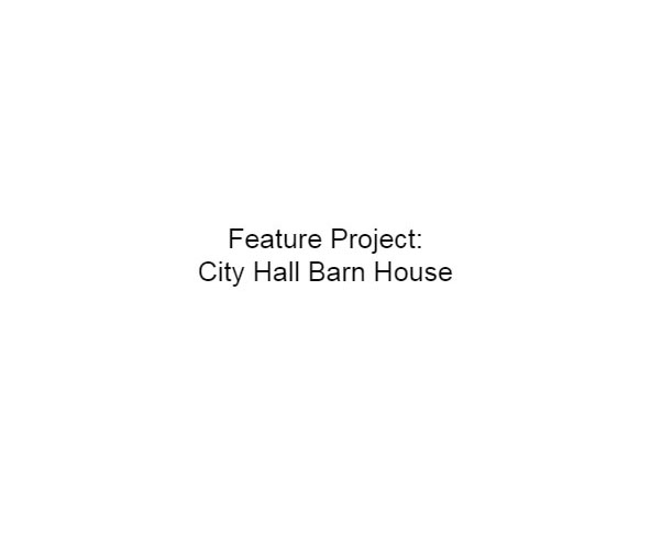 Zebiak House Raising and Moving - City Hall Barn House